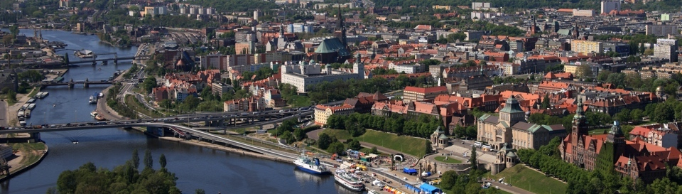 City centre, old town and the castle area